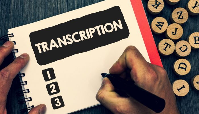 Transcriere automata audio - text Servicii financiare