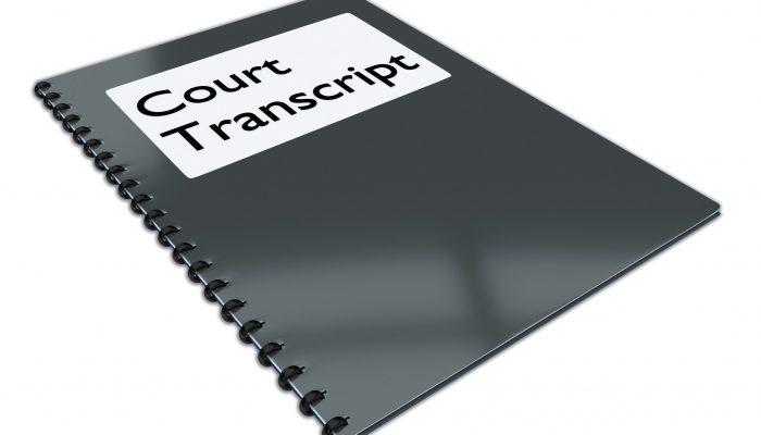 Transcriere automata audio - text Justitie sedinte de judecata