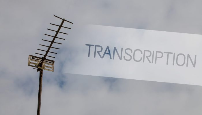 Transcrieri audio-text - Radio TV Telecomunicatii